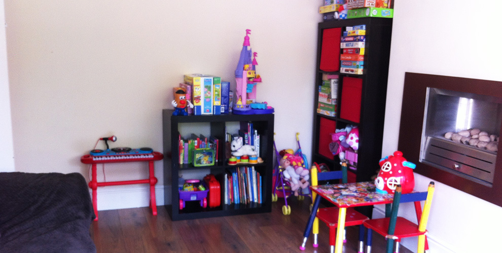 Our home - The Living Room, woolton childminder