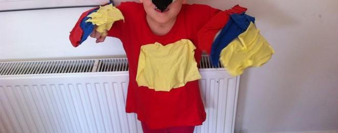 Parrot Dress Up