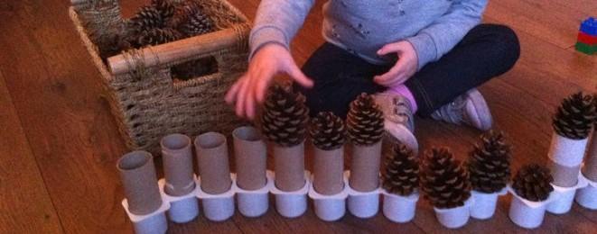 Pinecones, Cardboard Tubes and Yoghurt Pots