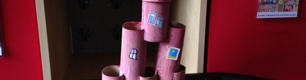Cardboard Roll Castle