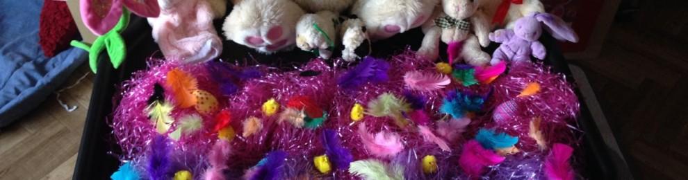 Easter Tuff Tray